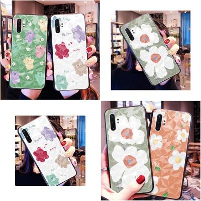 아이폰 XR XSMAX 8 7 크리스탈 꽃 곰젤리 하드 케이스