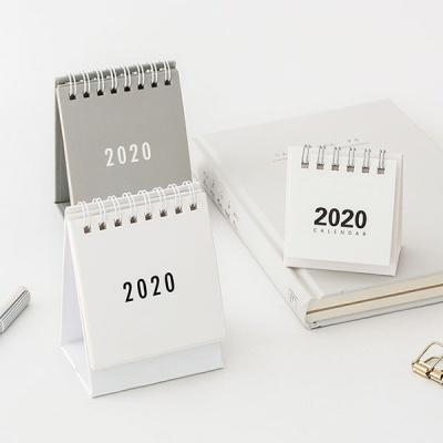 심플 2020 미니 데스크달력