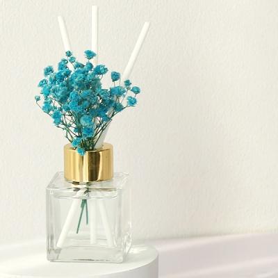 bath room 미니 사각 안개꽃 디퓨저 50ml(블루)