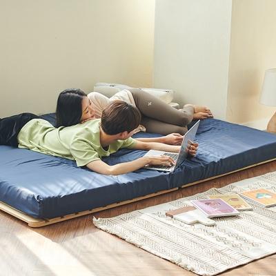 11cm 프리미엄 14존 접이식 토퍼 3D 침대 매트리스