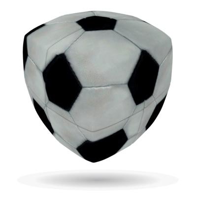 그리스 명품 입체큐브 V큐브 FOOTBALL-V2 PILLOW