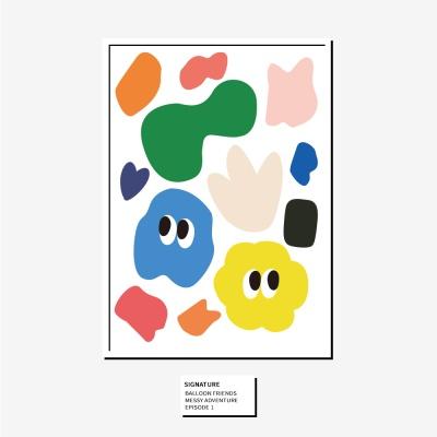 벌룬프렌즈 A4, A3 포스터 - 시그니쳐 패턴