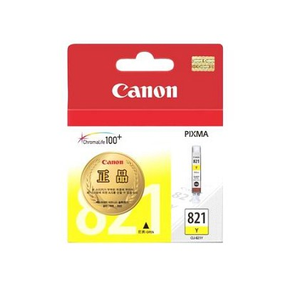 캐논(CANON) 잉크 CLI-821 / Yellow / MP545,MP568,MP628,MP988,MX868,iP3680,iP4680,iP4760