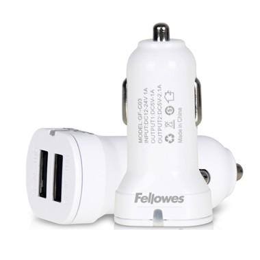 펠로우즈 자동차용 2포트 USB 충전기 (99244)