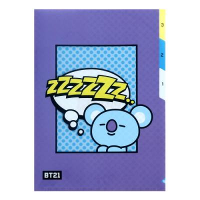 [BT21] 3 포켓 파일 폴더 / 코야(KOYA)
