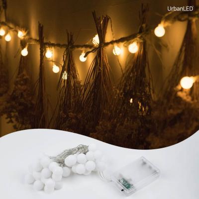 어반 LED 앵두전구 30구 기본점멸형