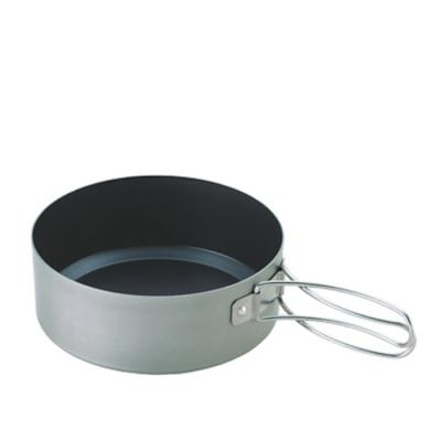 [유니프레임] 산 프라이팬 17cm 딥 캠핑용 쿠커