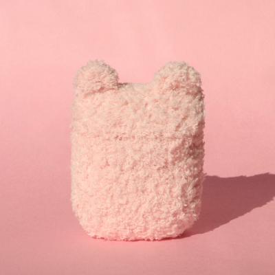 레이지띵 베이직 핑크 래빗띵 뜨개 에어팟 케이스