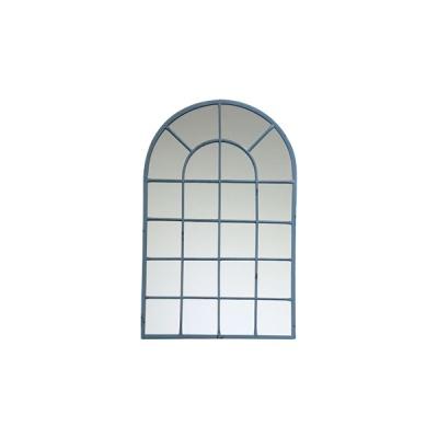 빈티지 컬렉션 창문 거울 - 블루