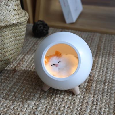 [무아스] 잠자는 고양이 충전식 무드등