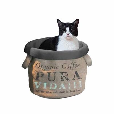유로펫 바스켓모양 고양이 하우스 (하우스퓨라비다)