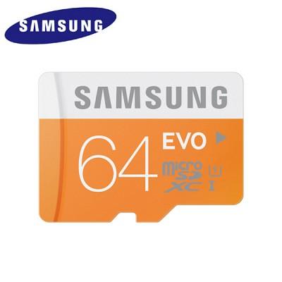 삼성 T-FLASH 메모리카드 microSDXC Class10 EVO UHS-1 (64GB) MB-MP64D (네 가지 손상 방지 기술 / 카메라 & 스마트폰 & 태블릿PC 등 호환)