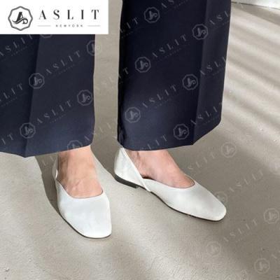 [애슬릿]데일리 스퀘어 여성 로저 플랫 슈즈