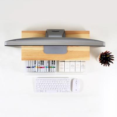 우드로하우스 소나무 원목 심플 컴퓨터 모니터받침대 HDM-802