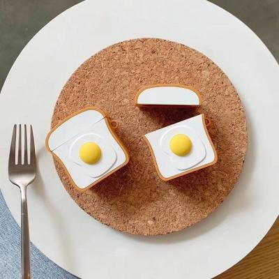 실리콘 식빵 계란빵 에어팟 1세대 2세대 케이스