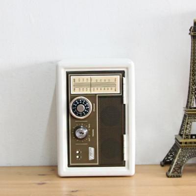 메탈 다이얼 캐쉬박스 - 40s 레트로 라디오