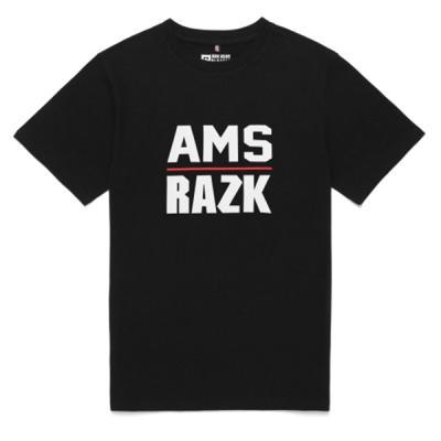 [라지크]AMS T-SHIRT (BLACK)