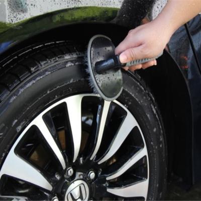 차량용 휠청소 브러쉬 타이어 청소솔 T형