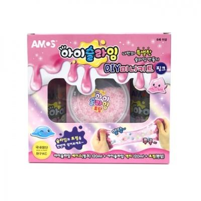 [아모스] 아이슬라임DIY미니키트 핑크 [세트/1] 390771