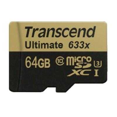 [트랜샌드] microSD 카드 633배속 고화질 HD 4K 64GB