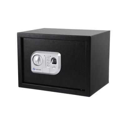 [카피어랜드] 디지털 지문인식 소형금고 CFS-25 BLACK