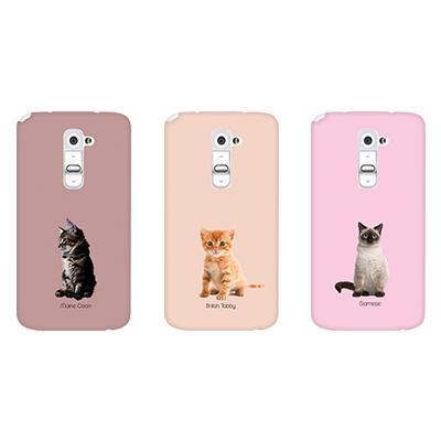 [테마케이스] Baby Cats (LG G2)