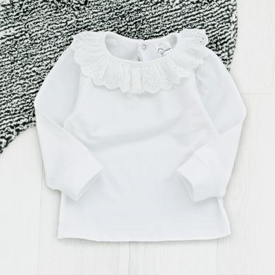 펀칭프릴 카라 여아 베이직 티셔츠 T135