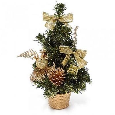 미니 크리스마스 트리 30cm (골드)