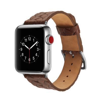 애플워치 밴드 1 2 3 4 5 스트랩 시계줄 가죽 와플