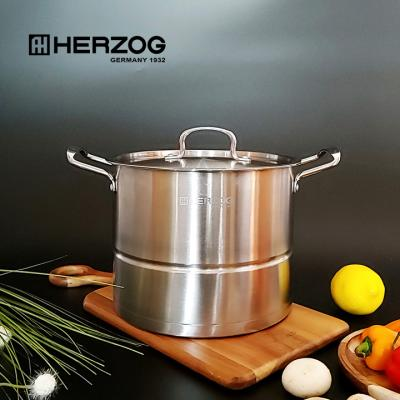 헤르조그 스테인레스 9L 대용량 찜 곰솥 MCHZ-V002