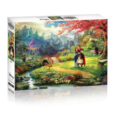 디즈니 킨케이드 1000피스 - 뮬란 벚꽃나무 아래서