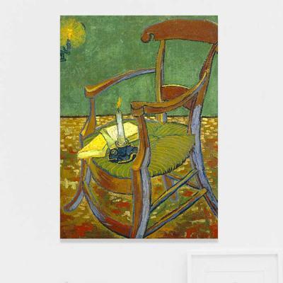 주문제작 액자 고흐 Gauguins chair 594x841x30mm