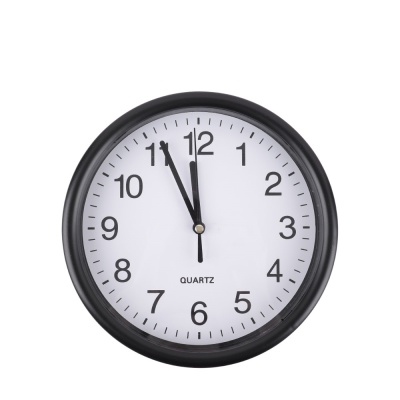 인테리어 쿼츠 벽시계 / 미니 시계 / 블랙 LCID257
