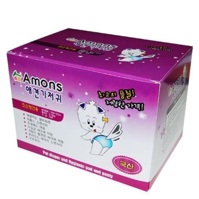 아몬스 크린세이프 생리패드 10매 초소형견