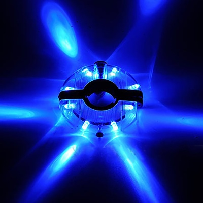 UFO LED 자전거 휠라이트(블루) 허브라이트