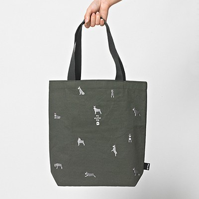 [자수에코백] my another bag : Schnauzer
