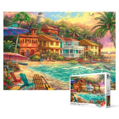 500피스 직소퍼즐 - 해변 마을
