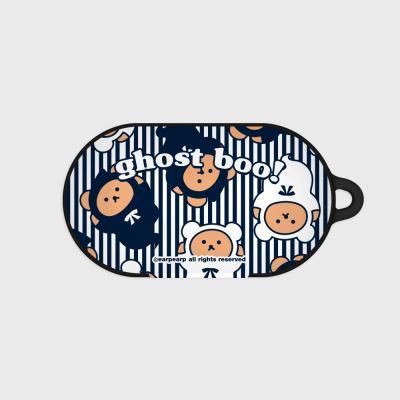Ghost bear-stripe(Buds hard case)