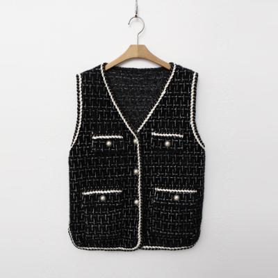Tweed Knit Vest