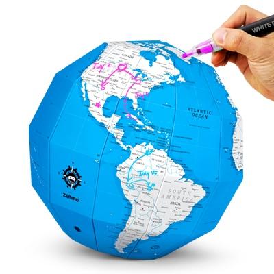 재미로 DIY 지구본 - 플랜맵(블루)