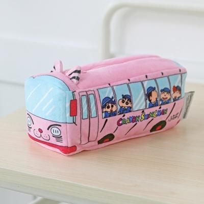 짱구 봉제파우치_유치원버스