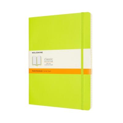 몰스킨 클래식노트-룰드/레몬 그린-소프트 XL