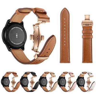 갤럭시워치3 2 기어 패션 가죽스트랩 버클밴드 시계줄