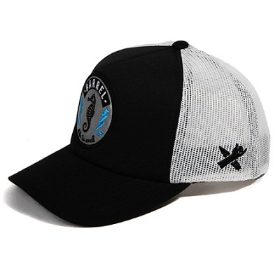 Sea Horse Mesh Cap Black