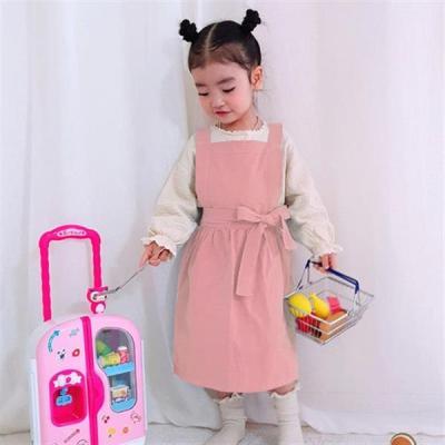 어린이 앞치마_핑크