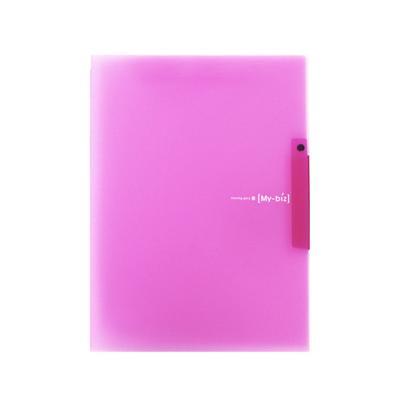 2000 원터치 클립화일(핑크)