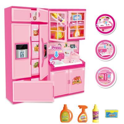 [맥킨더] DIY 미니어처 주방 냉장고 역할놀이