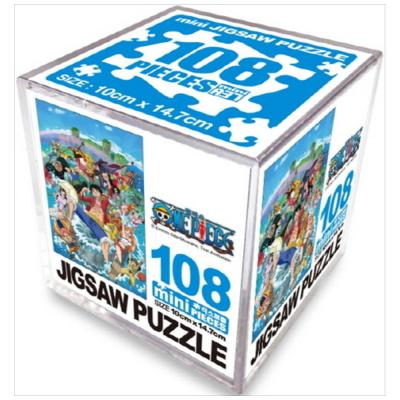 원피스 미니 직소퍼즐 108pcs: 워터월드 [퍼즐 ]