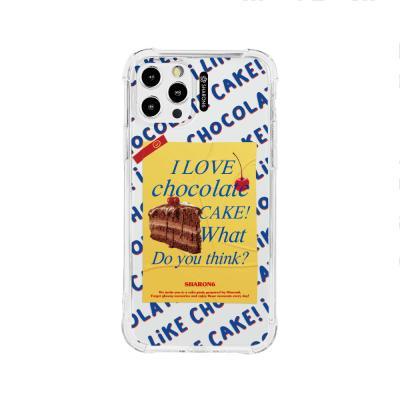샤론6 아이폰 케이스 초코케이크