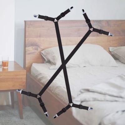 초대형 침대 이불고정 집게 갓샵 밀림방지밴드 2color